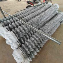 2018护坡植草菱形勾花网多尺寸报价-喷灌防护用铁丝网工程施工案例