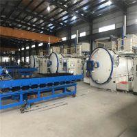 供应华瑞HRC2系列高速钢真空油淬炉 卧式油淬电阻炉 双室真空气冷工业炉