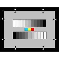 NHK 11阶灰阶卡(γ=0.45)附带3彩色灰阶测试卡