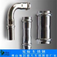 佛山宽裕 专业生产304薄壁不锈钢水管dn15*0.8