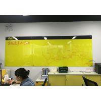 广州厂家菜单玻璃白板J云南培训玻璃白板J办公教学留言板
