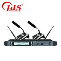 JDS 金迪 MX-620 一拖二无线麦克风话筒可配会议/头戴/领夹/手持