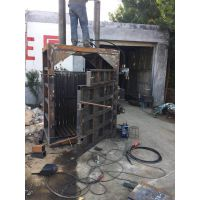 卧式金属压块机 立式废料废纸打包机 厂家定液压打包机