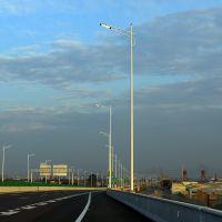 肇庆庭院灯距离 休闲广场道路灯图片 LED灯杆夜景效果图