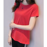 中国的服装批发市场中山便宜夏季便宜服装女装短袖T恤大量批发3元起