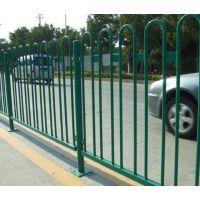 朔州锌钢围墙护栏HC,朔州京式道路护栏,喷塑河道围栏,仿竹节篱笆栅栏,Q235锌钢道路围栏