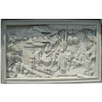 苏州 砖雕价格 泥塑 竹林七贤人物雕刻报价 唐语砖雕