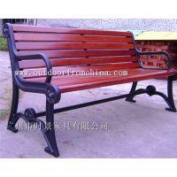 供应安徽景区木质靠背长椅 户外实木树围椅 铸铁木条椅