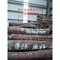 张家港一手货源供应赞比亚血檀原木 赞比亚血檀原木料