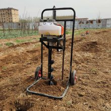 挖树坑机打树坑机 立柱子打窝机 植树挖坑机厂家 大棚立柱挖坑机