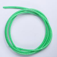深圳定制尼龙包胶201L不锈钢丝绳 加工不锈钢绳