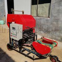 山东永康YK336全自动打捆机玉米秸秆青贮
