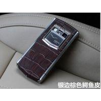 智能男款奢华手机 2G+16G 高档威图Vertu Vertu手机蓝宝石原装屏 Ti签名版
