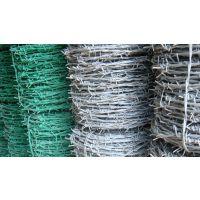 供应镀锌防锈铁蒺藜/热镀锌防盗刺丝/圈地养殖刺铁丝