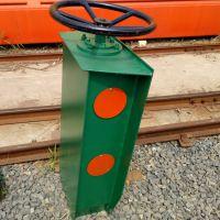 热销龙门吊防风夹轨器 简易方向盘式 手动夹轨器 亚重
