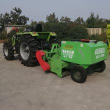 玉米秸秆打捆粉碎机安全可靠 黑龙江小型玉米秸秆粉碎回收机