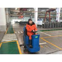 青岛一汽解放再次购买合美驾驶式洗地机