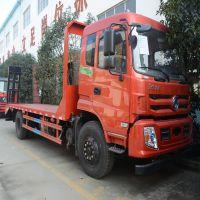 玉柴180东风单桥挖机拖车 150挖机平板拖车车1.0L排量排行