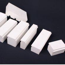 淄博厂家供应石英玻璃长石陶瓷磨机衬板(规格150*50*60)