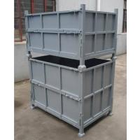 东莞帝腾珠三角厂家长期供应钢制折叠周转箱/堆垛铁箱/物流周转箱