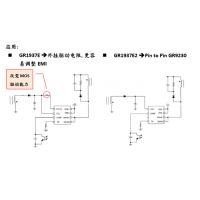 电源充电器方案—GR1937E/E2 满足能效六,无需散热片内置高压MOS,线性降频驱动IC