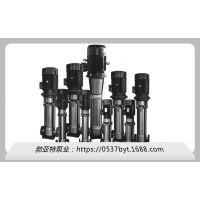 河北省邯郸市 精度高 QDL空调泵 不锈钢泵 生产厂家