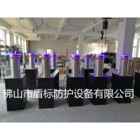 DB-SJ219全自动液压升降柱路障,佛山LED灯自动升降柱,304不锈钢伸缩护柱