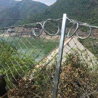 厂家直销隆恩防止山体落石被动RX-075型菱形被动防护网