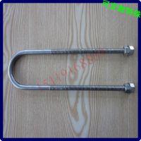 不锈钢U形螺栓杆 U型卡箍螺栓 广州螺丝厂m34568101216M18202430