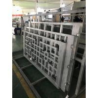 广东德普龙仿古木纹铝型材窗花可订做厂家销售