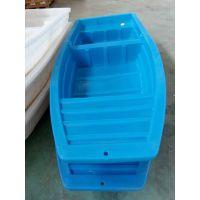 湖北卓远塑业2.6米塑料渔船厂家直供