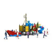 以伦游乐户外儿童PE板工程塑料组合滑梯,新款游乐设施,940*530*490cm幼儿园室内家具等