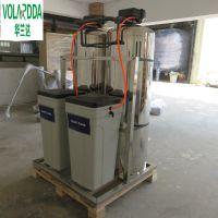 广西钦州学校饭堂井水发黄泥沙怎么处理 不锈钢 一体化净水设备华兰达厂家