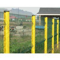 朋英 桃型柱护栏网 小区低碳铁丝浸塑护栏网 厂家直销