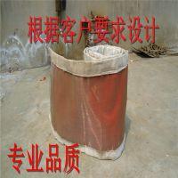 16年专业制造烟尘管道专用织物矩形圆形非金属补偿器蒙皮圈带