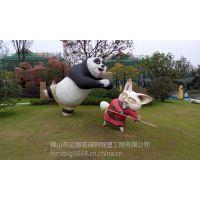 猫和老鼠雕塑,广东玻璃钢卡通雕塑厂家直销