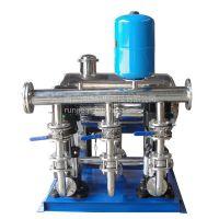 甘泉全自动恒压供水变频无负压增压设备 甘泉二次供水加压泵 RJ-1141