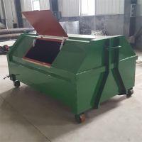 车挂垃圾箱 铁质垃圾箱 环卫垃圾箱 可定制