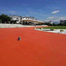 天津游乐场运动跑道价格 奥博幼儿园塑胶跑道供应商