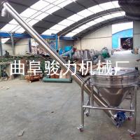 家用管式粮食输送上料机 垂直小型玉米小麦提升机 绞龙输送机 骏力定制