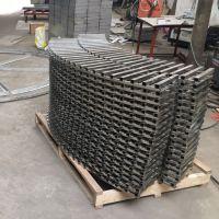 金聚进 定制异形钢格板弧形钢格板圆形格栅板 不锈钢钢格栅板 平台格栅板
