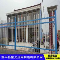 别墅围墙@安平聚光制造小区围墙@铁艺护栏