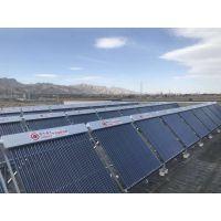 30吨太阳能热水工程,宾馆、学校、工厂员工宿舍洗澡太阳能热水工程