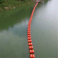 便于清理河道拦污装置浮筒 四川水电厂拦污排