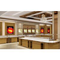厦门珠宝展示柜多少钱一节,烤漆柜采用超清玻展示效果更强。柏伊松珠宝柜量身定做