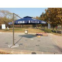 南京户外遮阳伞太阳伞警用巡防伞室外大雨伞厂家