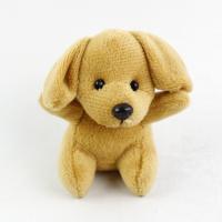 厂家直销15CM填充PP棉毛绒玩具可爱萌狗狗 公仔娃娃可来图打样定制