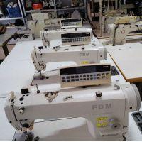 电动桌式缝纫机二手缝纫机 方德二手电脑平车 FDM直驱电脑衣车