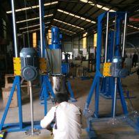 宁夏青海5.5千瓦分散机 液体搅拌机 高速分散机 乳胶漆分散机厂家直供