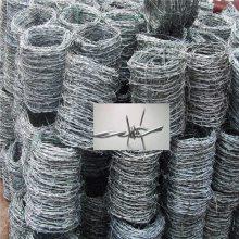 带刺铁丝绳 刺绳护栏网 刺铁丝